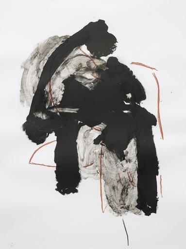 Robert MOTHERWELL - Estampe-Multiple - Calligraphy I