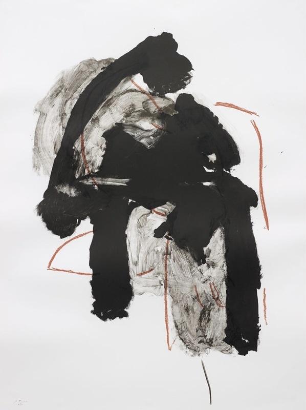 Robert MOTHERWELL - Print-Multiple - Calligraphy I