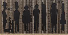 Pascale Marthine TAYOU - Pintura - Code Noir 2