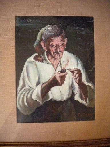 Tullio GRASSI - Painting - Fumatore