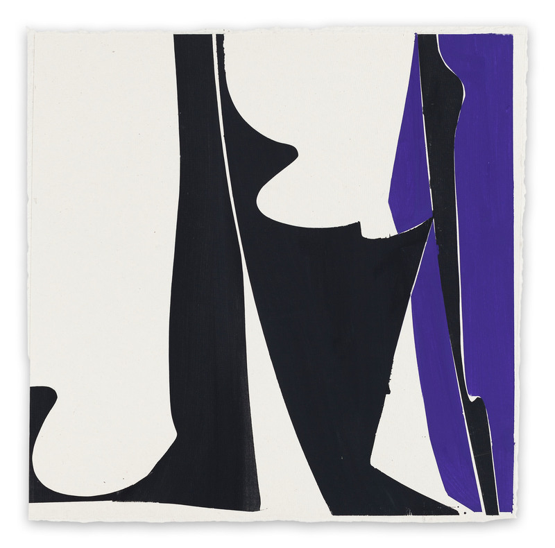 Joanne FREEMAN - Drawing-Watercolor - Covers 13 - Blue Black