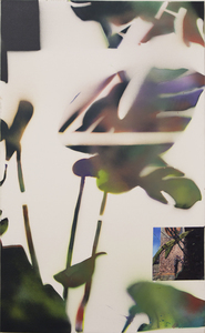 Marius BERCEA - Painting - Window Leaf Metabolism