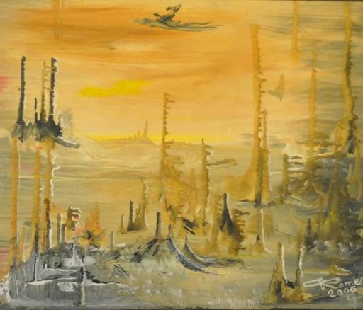 Romeo DOBROTA - Painting - After life