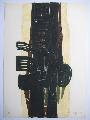 Silvano BOZZOLINI - Print-Multiple -  GRAVURE 1964 SIGNÉE CRAYON NUM/24 HANDSIGNED NUMB24 ETCHING
