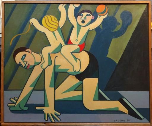 Fernand DAUCHO - Gemälde - A DADA