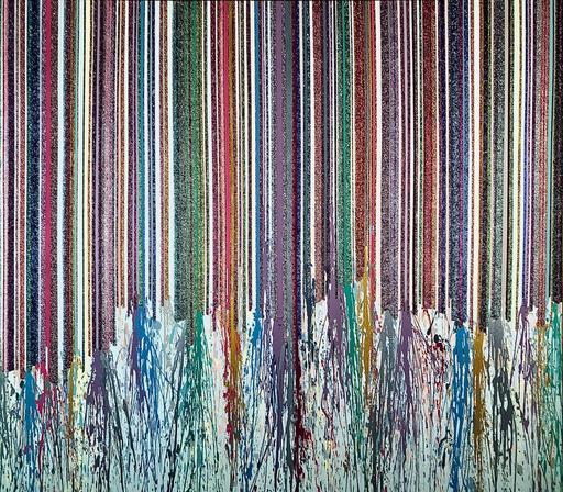 Alexandra BERNARDINI - Painting - Celebration of  Life 185x200 Nr.3