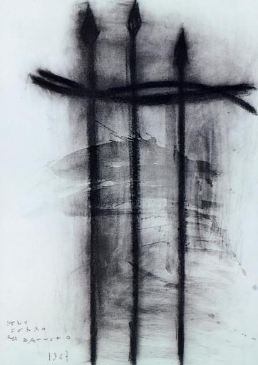 皮埃罗·皮奇·坎内拉 - 绘画 - NERO FERRO BATTUTO