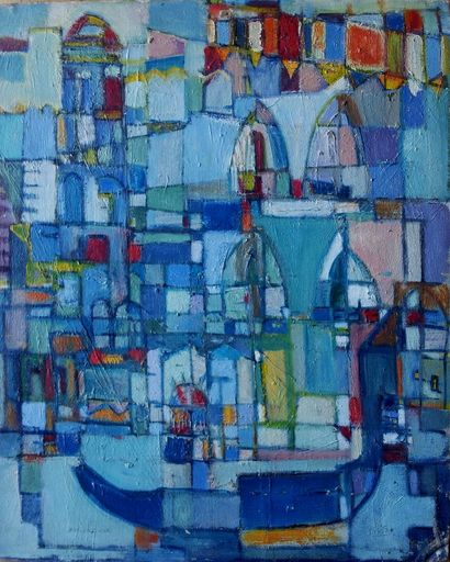 Menachem HELHOLZ-OR - Pittura - Venice