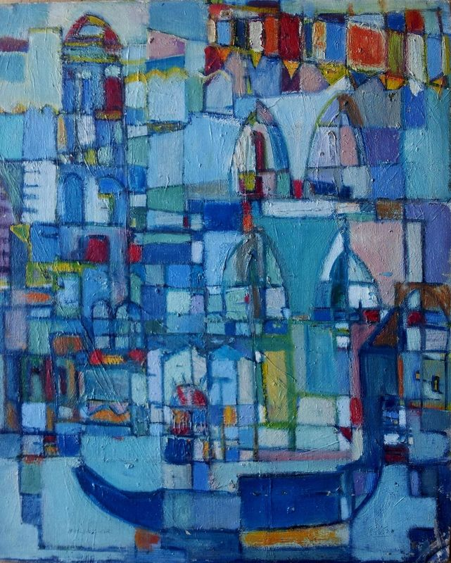 Menachem HELHOLZ-OR - 绘画 - Venice