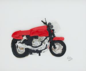 CÉSAR - Zeichnung Aquarell - Untitled