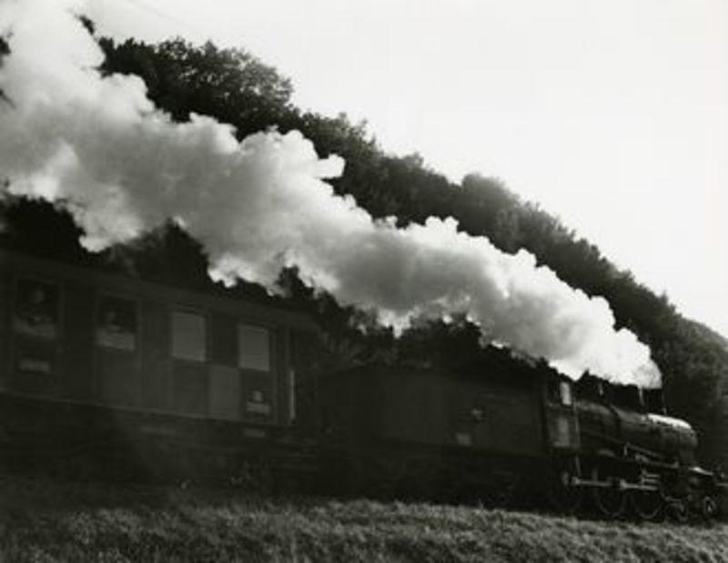 Hans BAUMGARTNER - Fotografie - Dampfzug