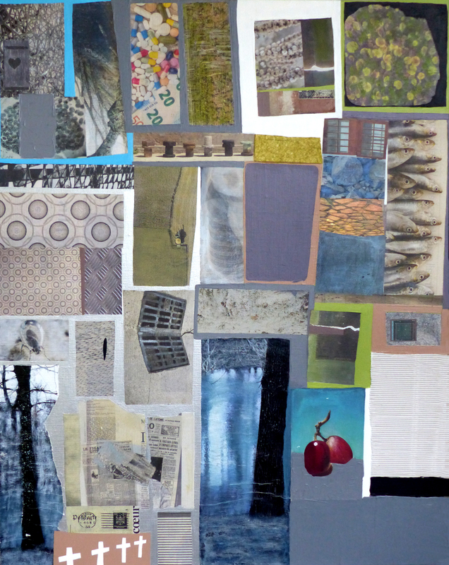 Christine GROSARU-BLETON - Pintura - Collages 5