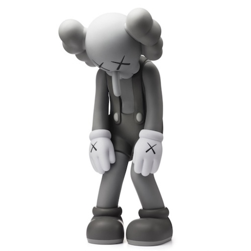 KAWS - Skulptur Volumen - Small Lie Gray