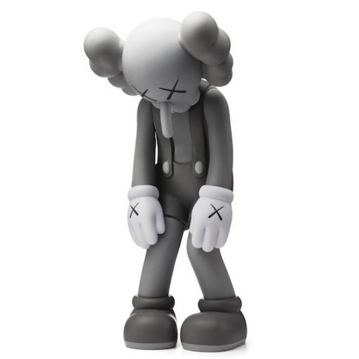 KAWS - Escultura - Small Lie Gray