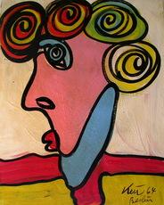 Peter Robert KEIL - Painting - Wien nur Wien