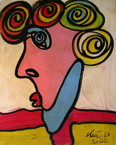 Peter Robert KEIL - Pintura - Wien nur Wien