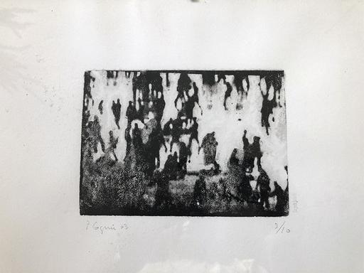 "Philippe COGNÉE - Estampe-Multiple - ""Casablanca"""