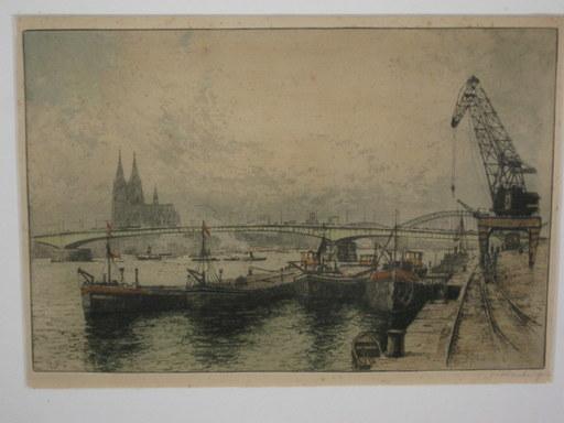 Josef EIDENBERGER - Grabado - Köln