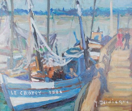 Yvonne DELDICQUE - Pintura - Le CROTOY