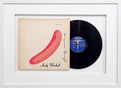 "Andy WARHOL - Sculpture-Volume - Vinyl record ""Peeled Banana"" - Velvet Underground & Nico"