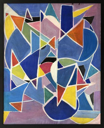 Natalia DUMITRESCO - Painting - Geometrique