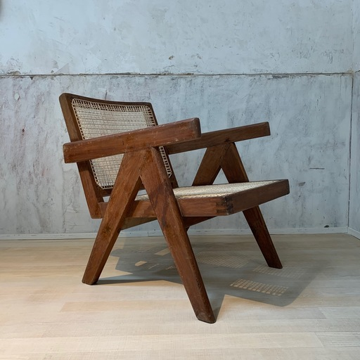 Pierre JEANNERET - Easy Armchair - Chandigarh