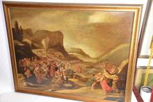 Frans II FRANCKEN - Painting - Red Sea Crossing Artte Israelites