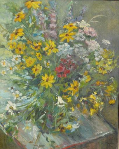 Ludmila MOROZOWA - Painting - Floral still-life