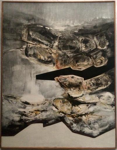 Claude GEORGES - 绘画 - Sans titre, 1965