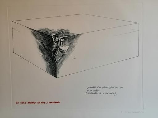 Gérard TITUS-CARMEL - Druckgrafik-Multiple - Le Parallélépipéde