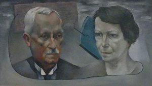 Henri GOETZ - Painting - Portrait des parents de Christine Boumeester