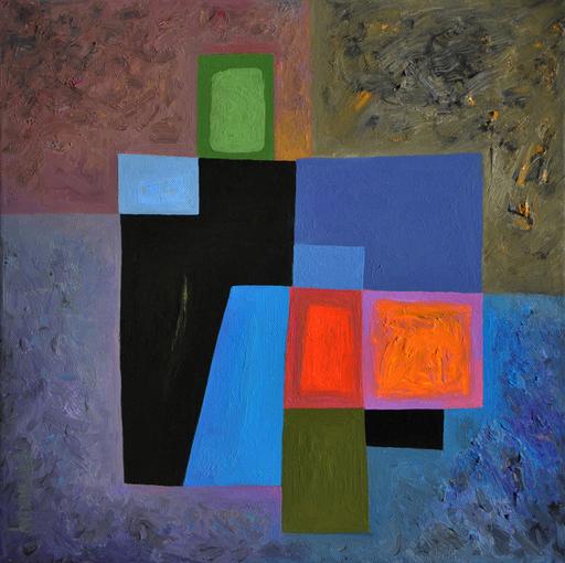 Istvan JARMECZKY - Painting - MACHU PICHU 2