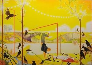 Eric WINARTO - Painting - Broken Beat