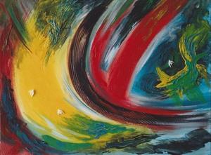 Didier ANGELS - Pintura - L'envolée