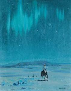 Peter Maxwell EWART, Untitled - Northern Lights