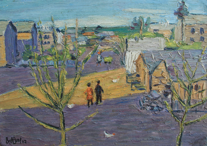 Valeriy NESTEROV - Pintura - Staratel township. Sverdlovsk district