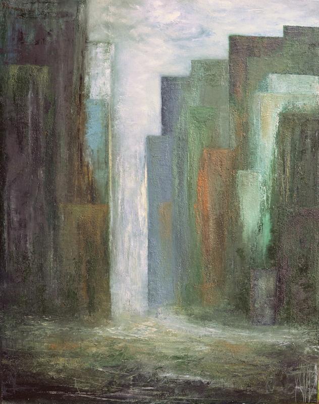 Géraldine THEUROT - Peinture - New York I    (Cat N° 4936)