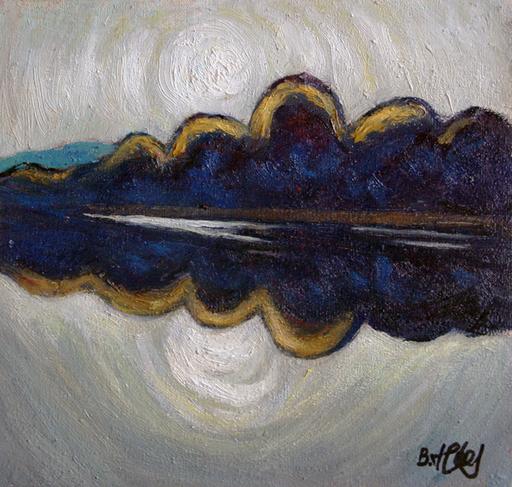 Valeriy NESTEROV - Painting - Nizhniy Tagil pond
