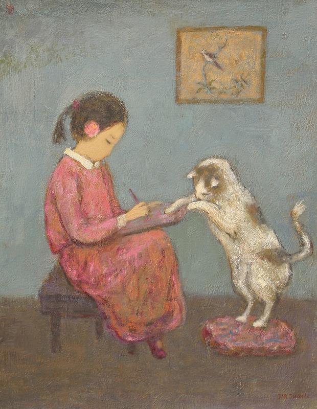 JIA Juanli - Pintura - Mon ami Han Han