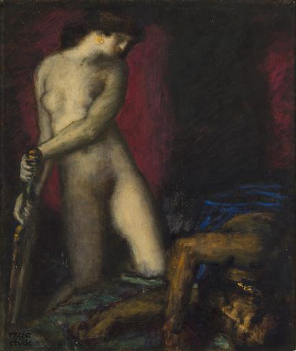 Franz VON STUCK - Pittura - Judith und Holofernes