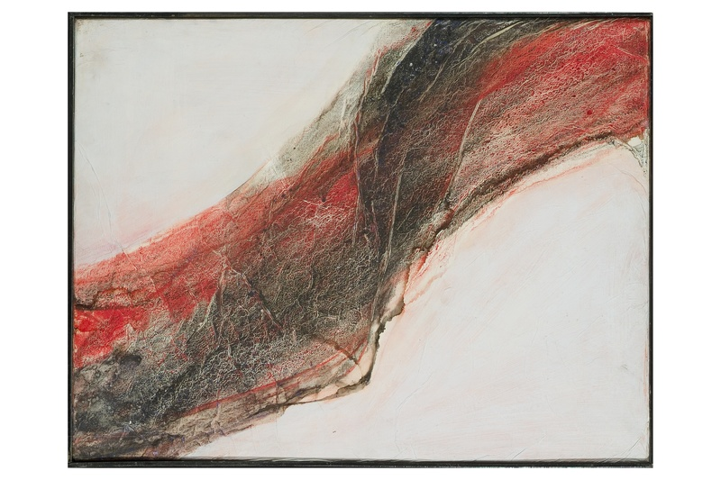 Martial RAYSSE - Pittura - Senza titolo