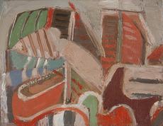 André LANSKOY - Peinture - Composition