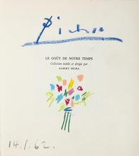 巴勃罗•毕加索 - 水彩作品 - Bouquet de fleurs