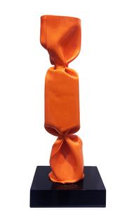 Laurence JENKELL - Sculpture-Volume - Wrapping bonbon orange