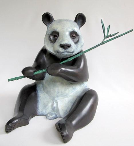 Chantal PORRAS - Escultura - Panda mâle