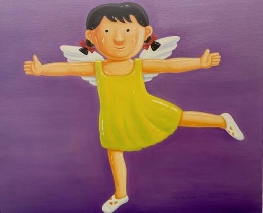 SHEN Jingdong - Painting - Little Girl