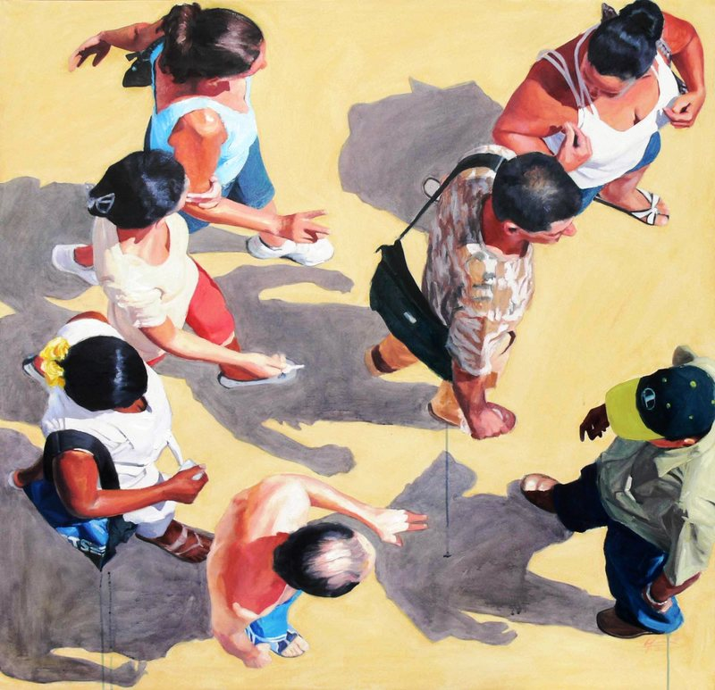 Alejandro GOMEZ CANGAS - Pittura -  #2 Composition with Shadow