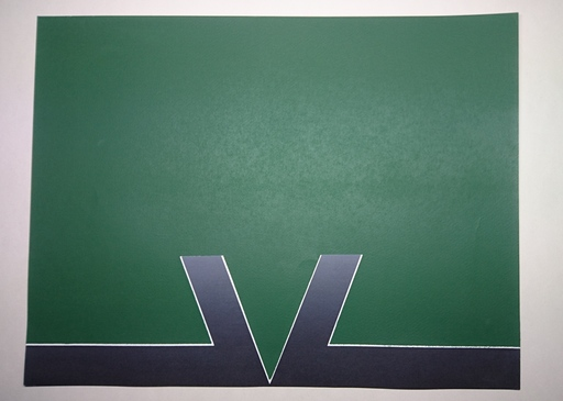 Cecil KING - Print-Multiple - Intrusion Green