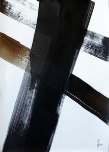 Jean-Jacques MARIE - Dessin-Aquarelle - Composition n°1308