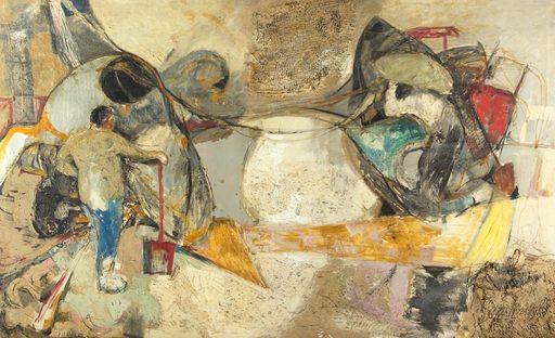 José Antonio DAVILA - Gemälde - Formas y figuras